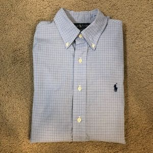 Ralph Lauren Button Down Shirt (Custom Fit)